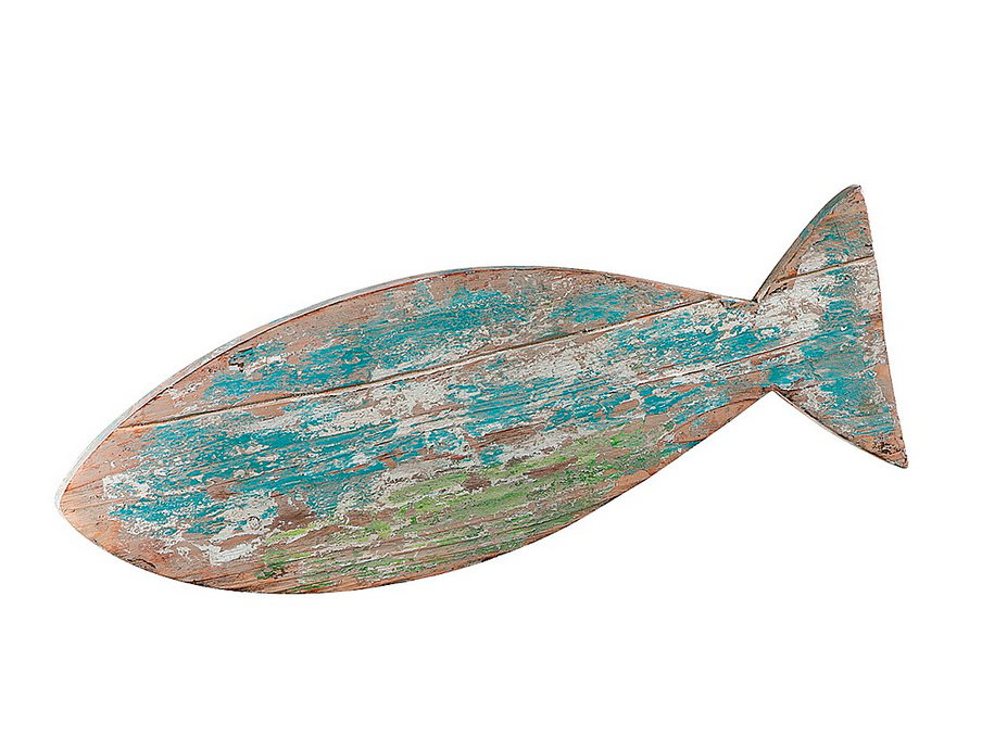 Themen Dekoration Fisch Aus Holz