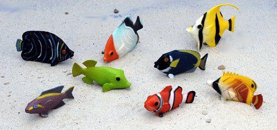 Piraten kleine fische aus plastik for Kleine fische