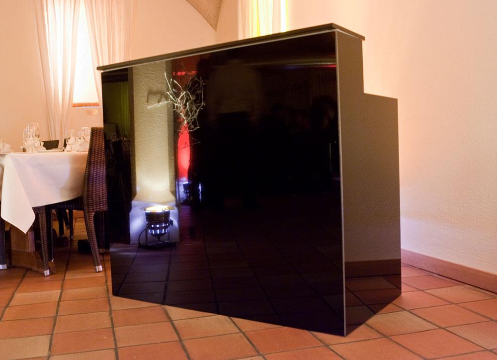 theke schwarz alle ideen ber home design. Black Bedroom Furniture Sets. Home Design Ideas
