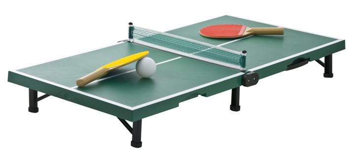 eventspiele mini ping pong tisch. Black Bedroom Furniture Sets. Home Design Ideas