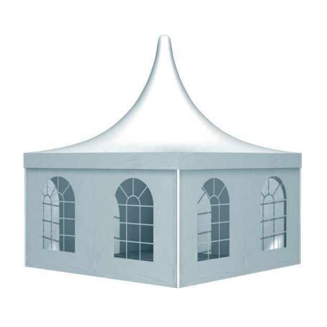 zelte sonnenschirme pagodenzelt 10x10 meter. Black Bedroom Furniture Sets. Home Design Ideas
