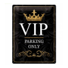 blechschild-vip-parking-only
