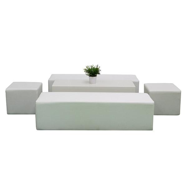 Themen Dekoration Lounge Im Cube Style Weiss
