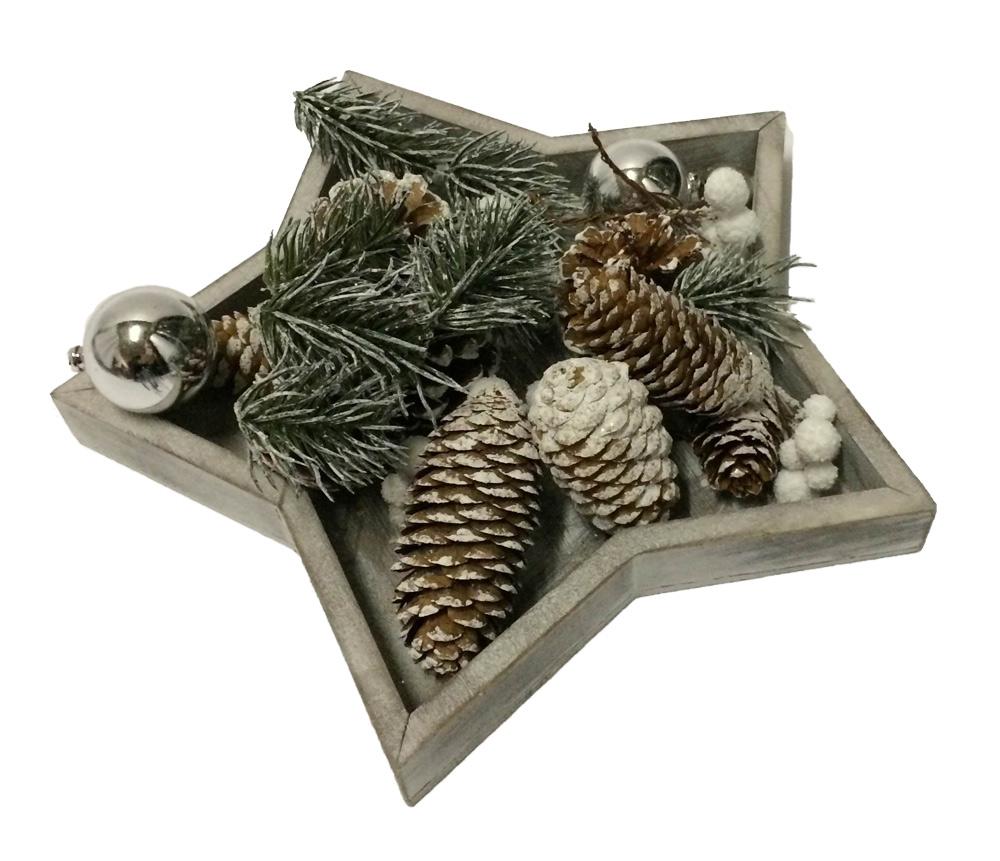 Tischdeko Weihnachtsstern