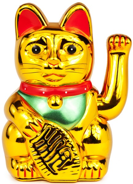 Themen dekoration asiatische winkekatze - Asiatische dekoration ...